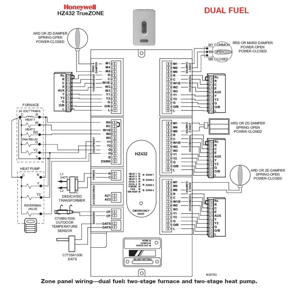 honeywell vr8300 wiring diagram