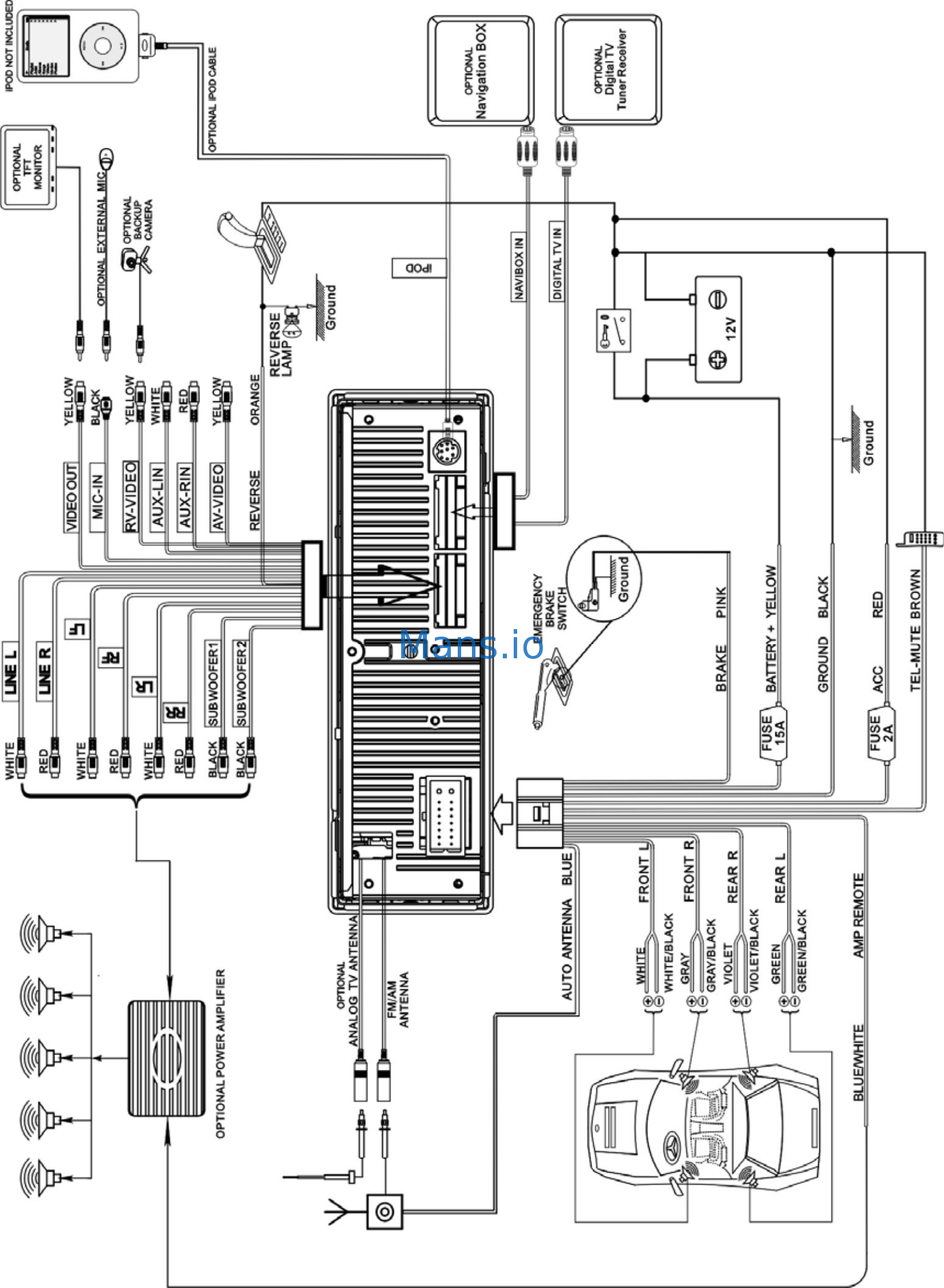 Wiring Diagram Further Power Antenna Wiring Diagram On Hyundai Power