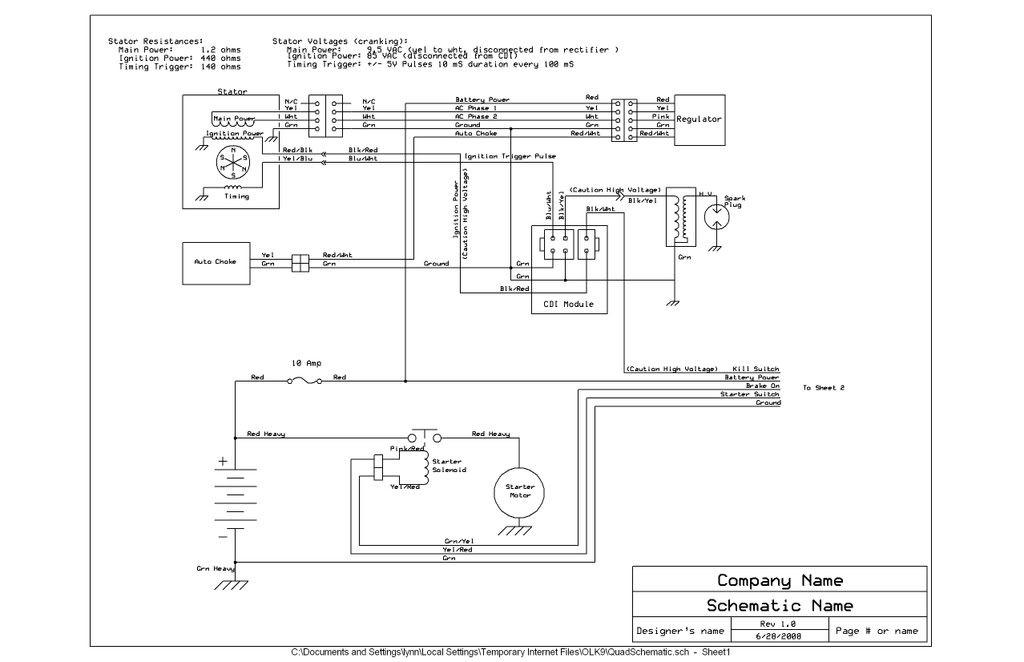 Howhit 150cc Wiring Diagram