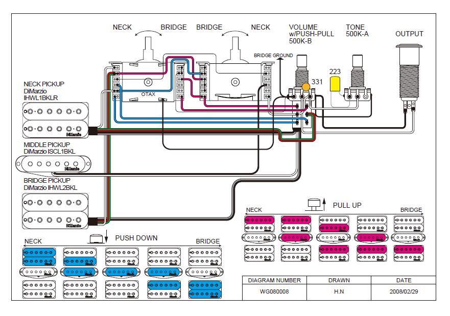 Hsh 5 Way Wiring Diagram