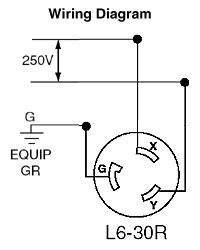 Hubbell Locking Plug L14 30p    Wiring       Diagram