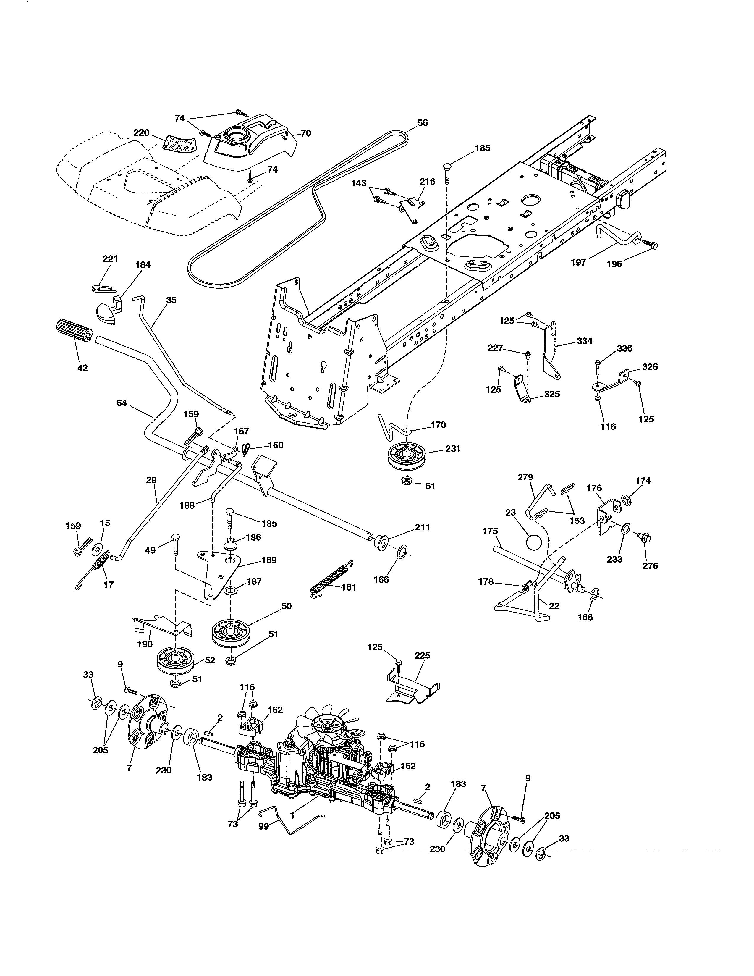 Husqvarna Lgt2654 Belt Diagram