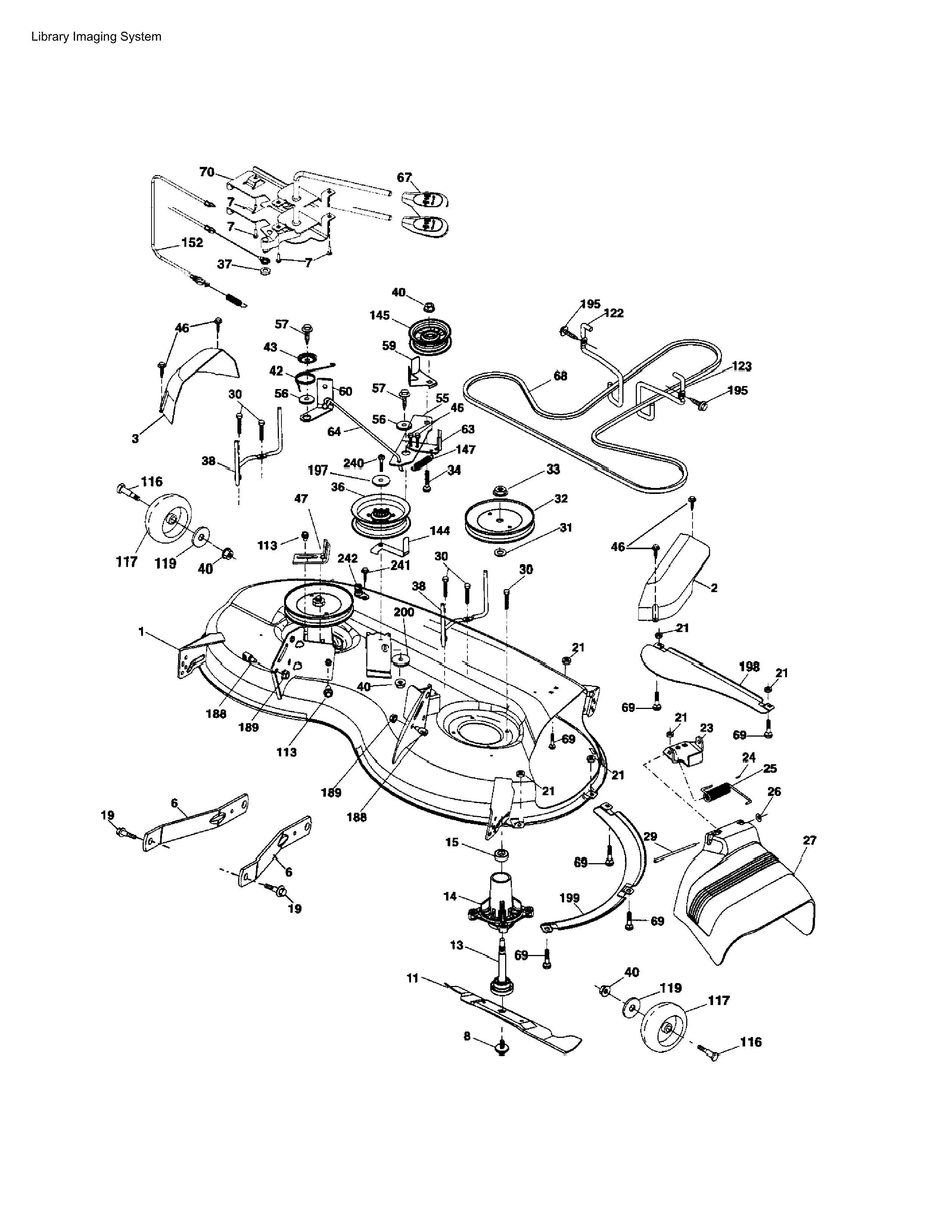 Hysqvarna Model Yta22v46 Wiring Diagram