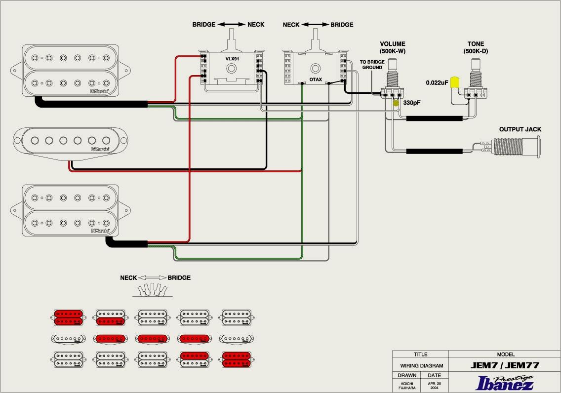 Ibanez Artcore Wiring Diagram