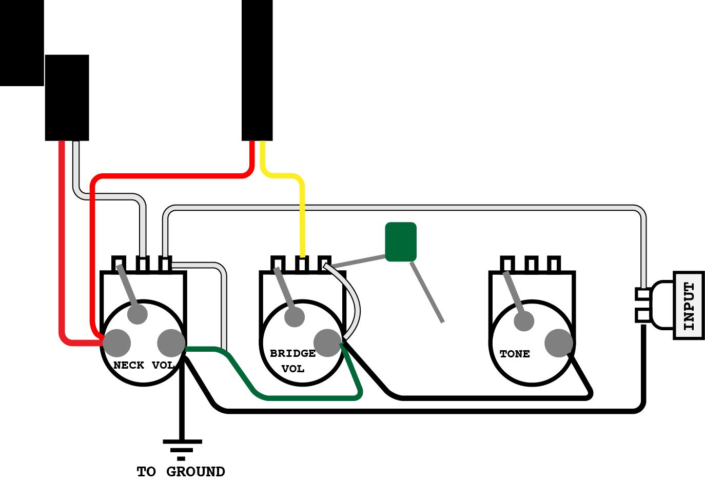 Ibanez Fireman Wiring Diagram