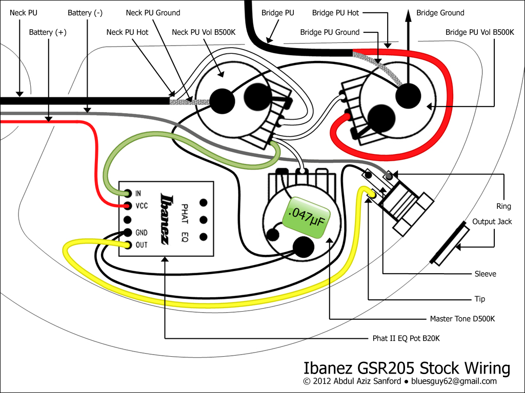 Dimarzio Dp159 Wiring Diagram