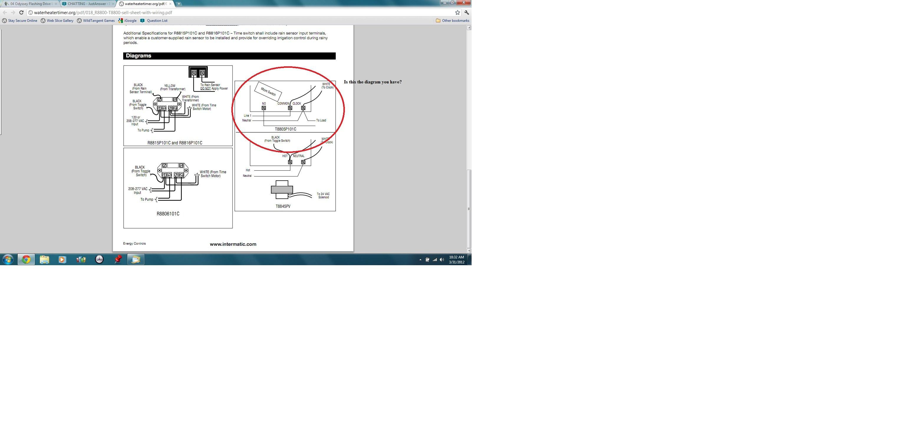 Intermatic Pool Timer Wiring Diagram Time 277 Clock