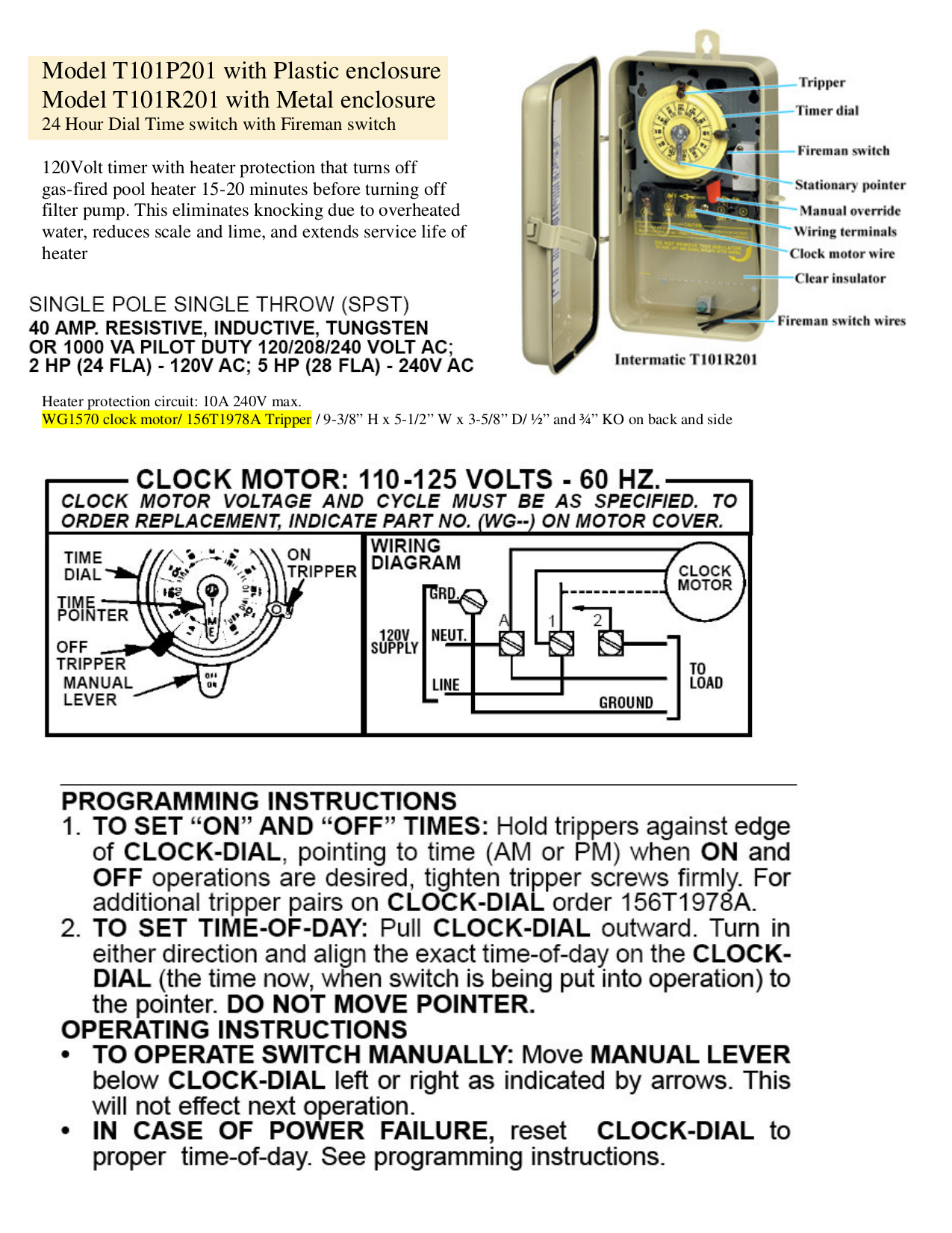 Intermatic Pool Pump Timer Wiring Diagram Free Download -Western Star Truck Wiring  Diagram Acm | Begeboy Wiring Diagram SourceBegeboy Wiring Diagram Source