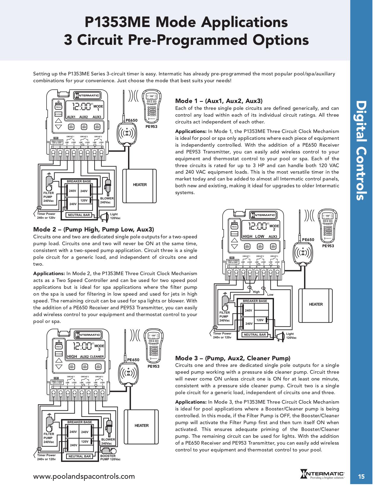Intermatic T104 Wiring Diagram