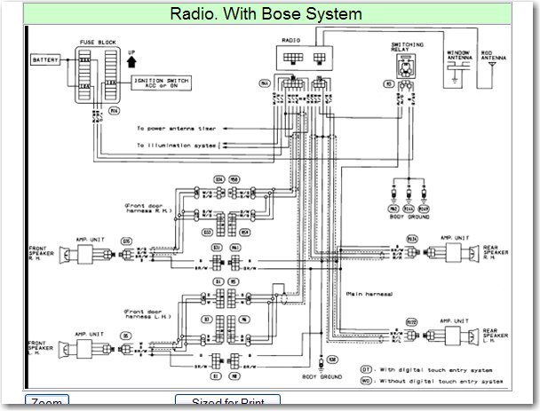 Intrigue Oem Wiring Diagram For Bose Stereo