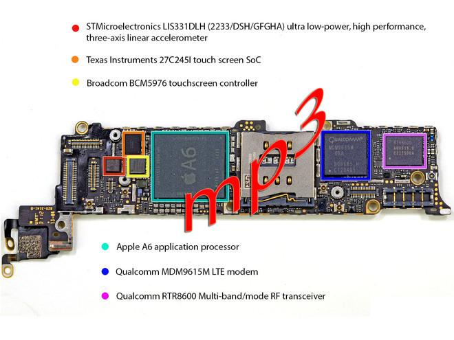 Iphone 5s Motherboard Diagram