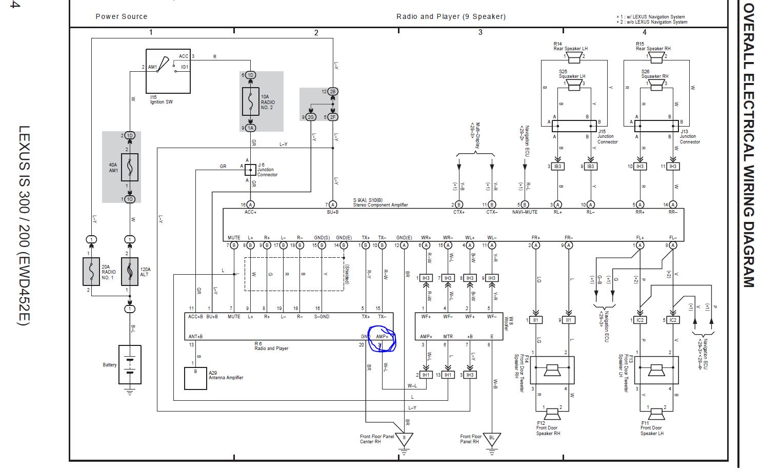 Is250 Amp Wiring Diagram