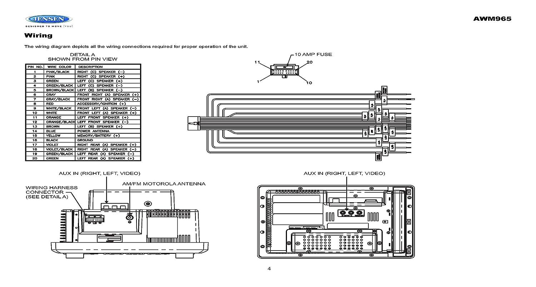 Jensen Vm9510 Wiring Harness Diagram - Wiring Diagram Xt225 1994 for Wiring  Diagram SchematicsWiring Diagram Schematics