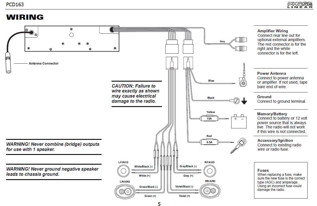 Jensen Lxa400 Wiring Diagram