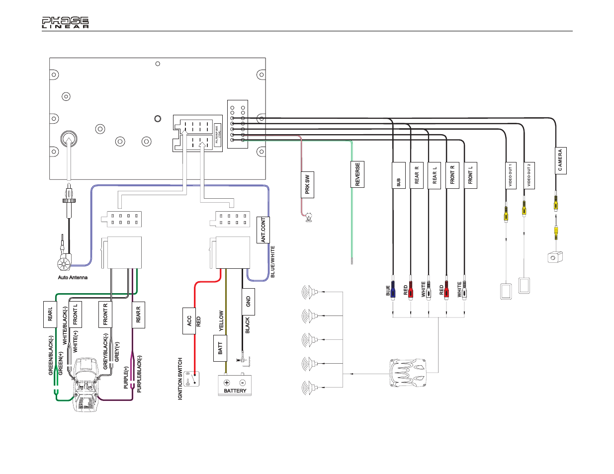 Jensen Uv8020 Wiring Diagram