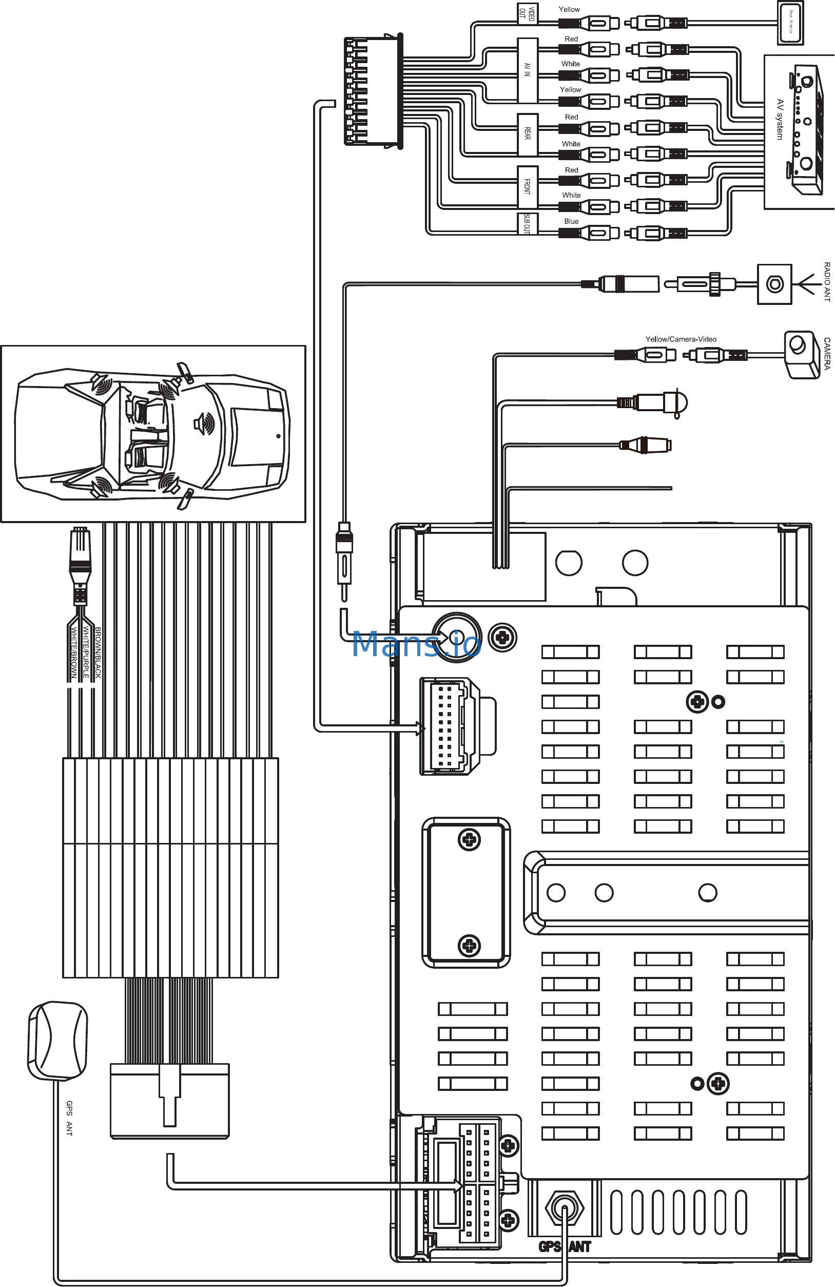 Jensen Vm9215bt Wiring Diagram