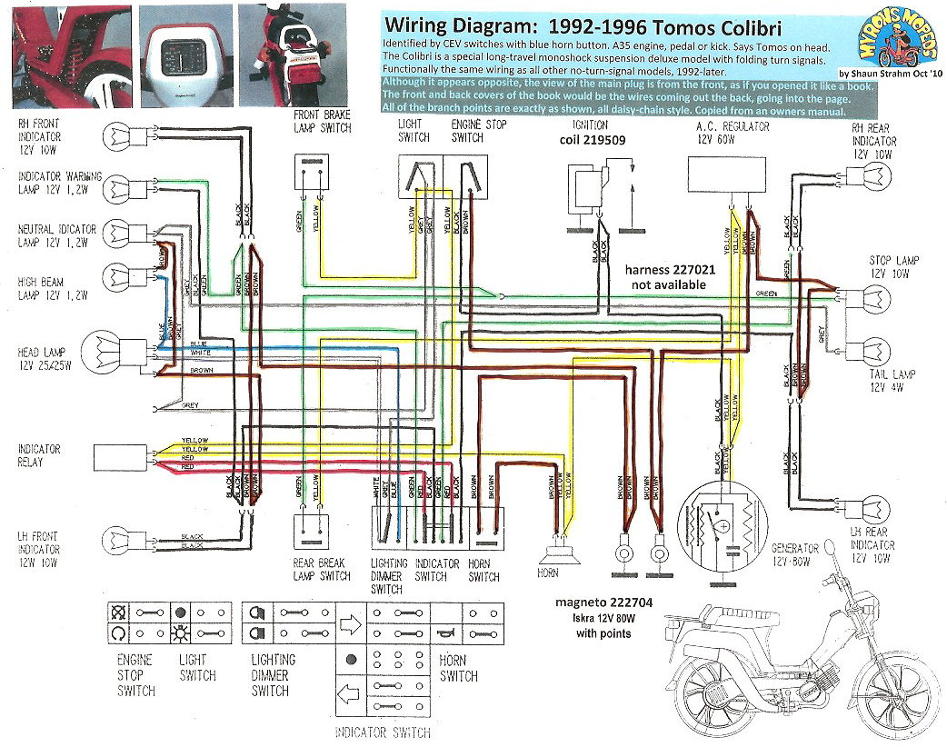 Jinlun Scooter Wiring Diagram
