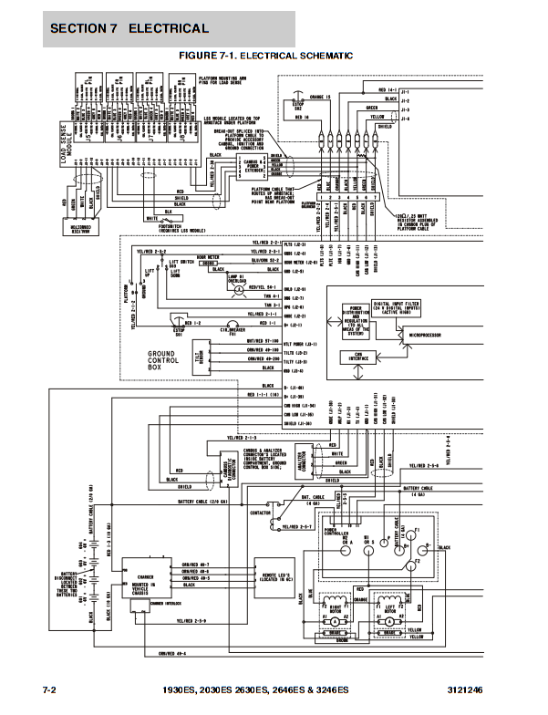 Jlg Scissor Lift 1432 Wiring Diagram