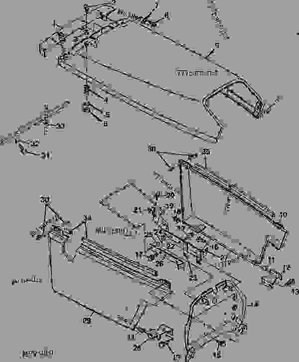 john-deere-1070-parts-diagram-4 R H Wiring Diagram on