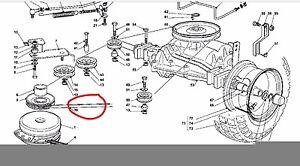 john deere 175 hydro drive belt diagram