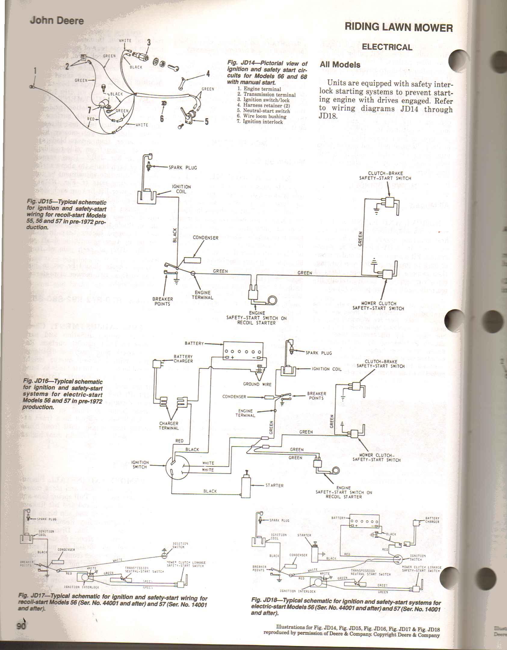 John Deere 3038e Wiring Diagram Schematics
