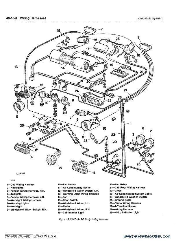John Deere 4230 Wiring Diagram