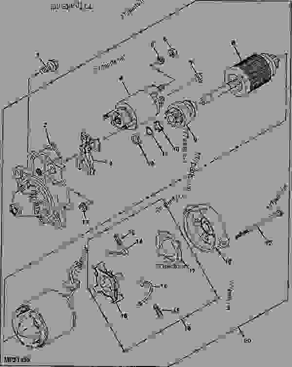 John Deere Gator 6x4 Diesel Fan Wiring Diagram