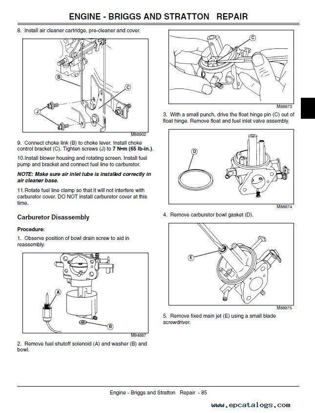john deere gt235 wiring diagram