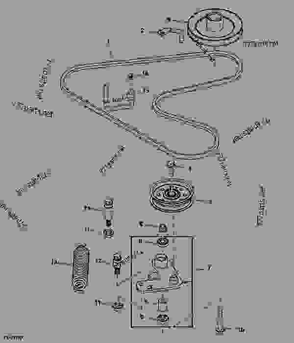 John Deere La145 Wiring Diagram on