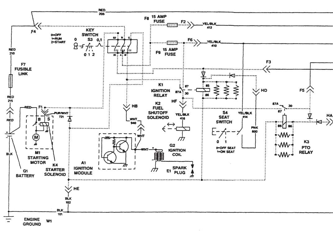 on john deere lx176 lawn tractor wiring schematic