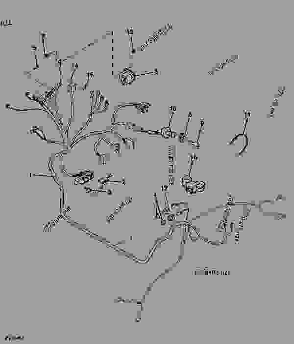 John Deere Rx95 Wiring Diagram on