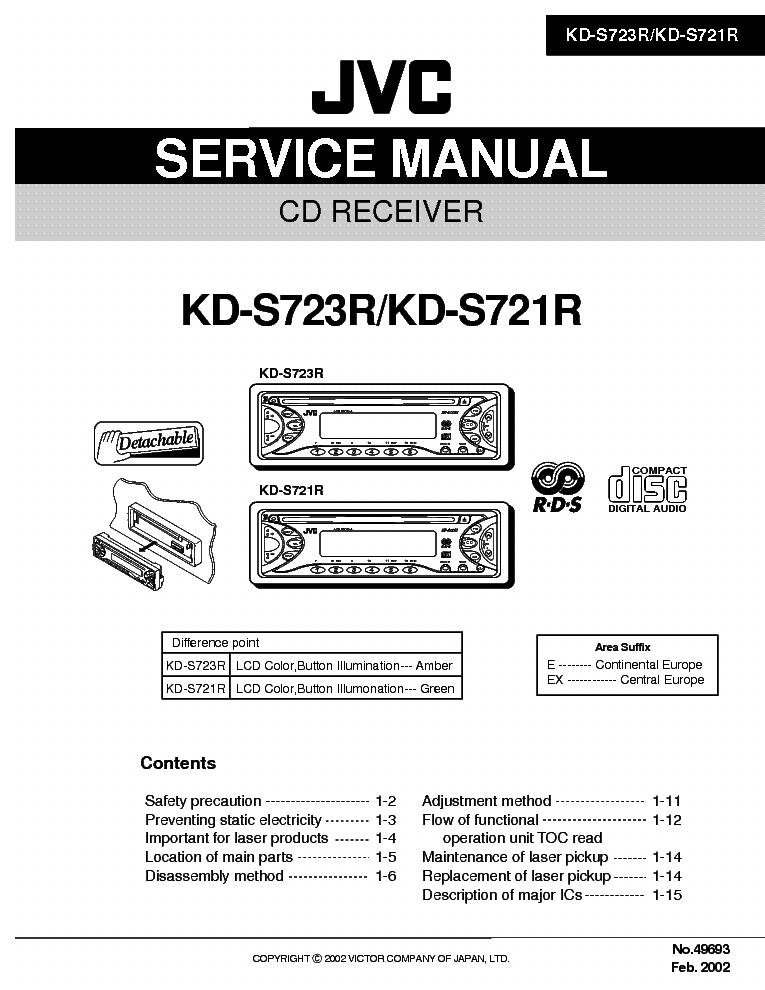 Jvc Kd R416 Wiring Diagram