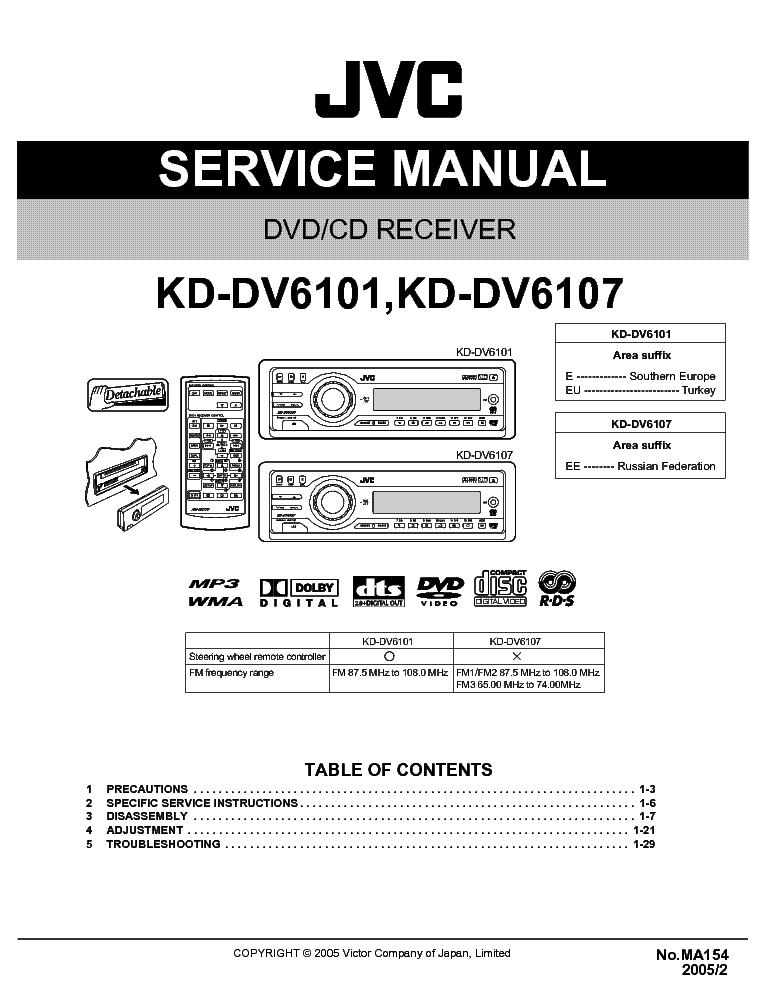 Jvc Kd R540 Wiring Diagram