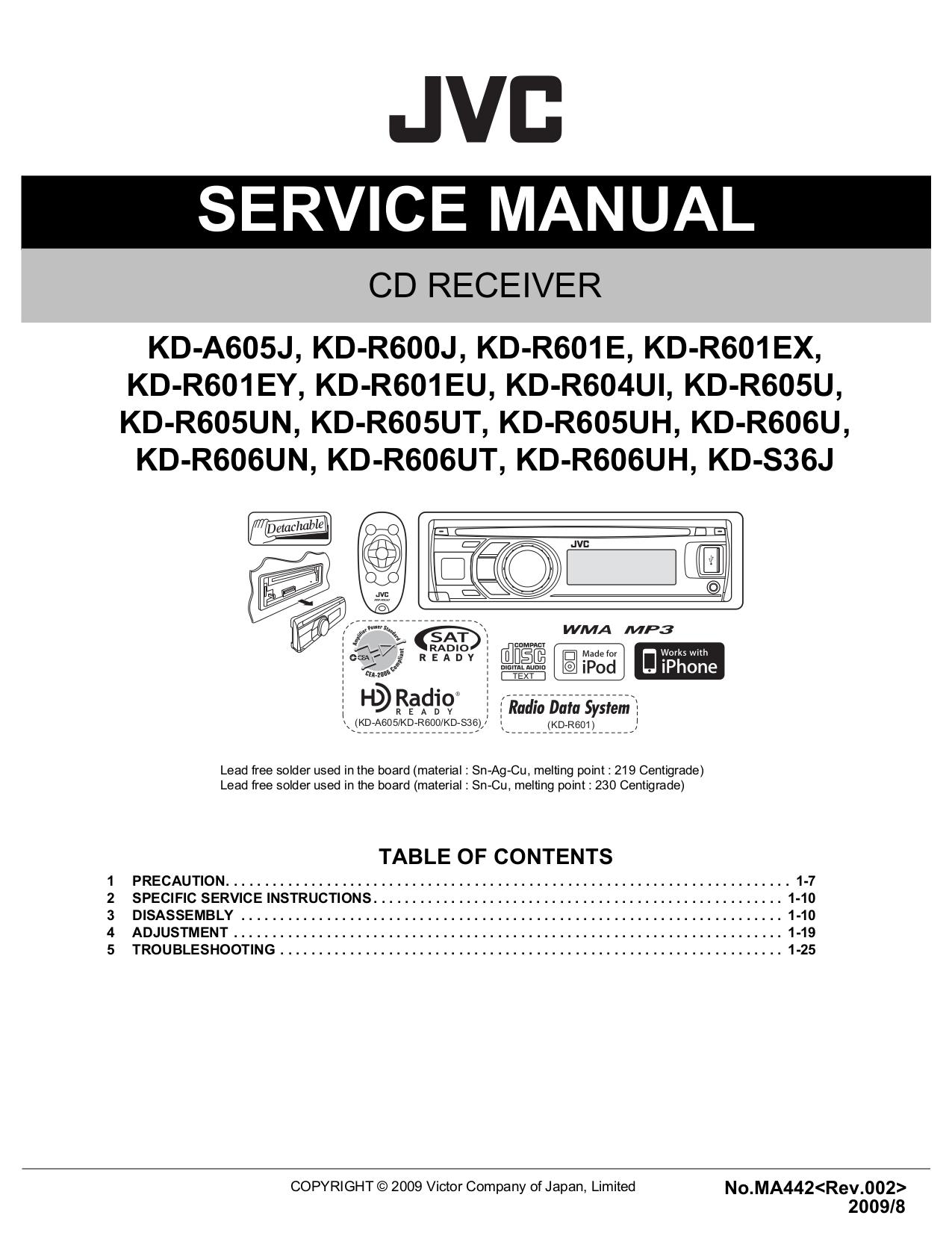 Jvc Kd-s29 Wiring Diagram on