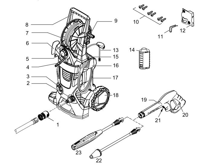 Karcher Model K 5 540 Wiring Diagram