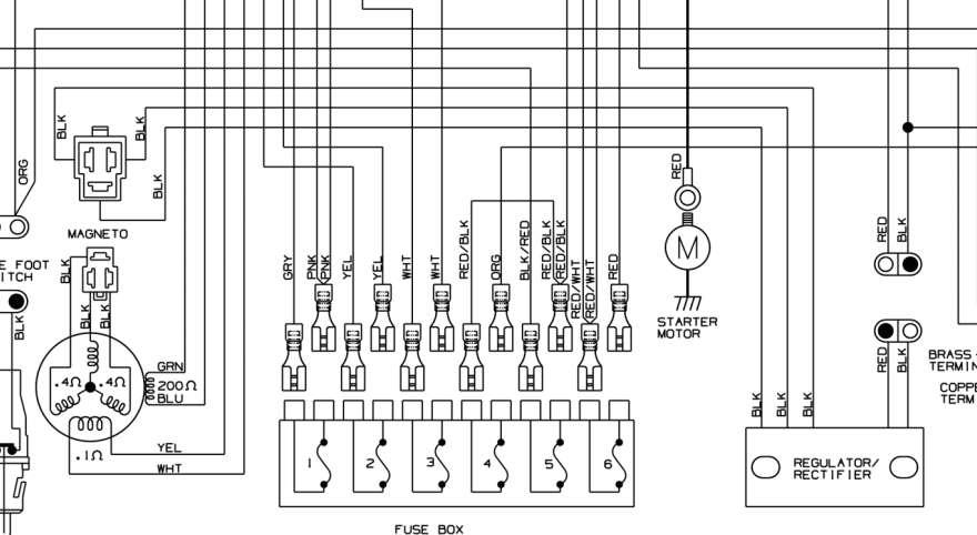 97 Kawasaki Prairie 400 Wiring Diagram
