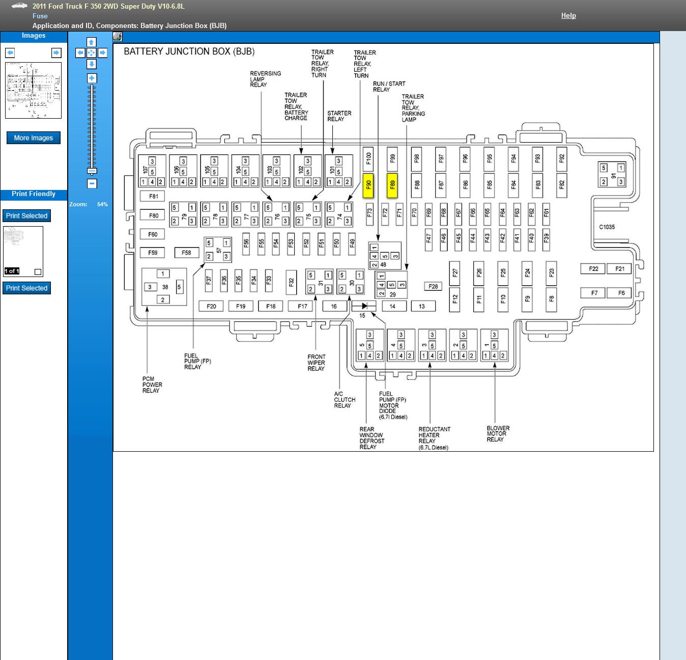 2011 Super Duty Wiring Diagrams