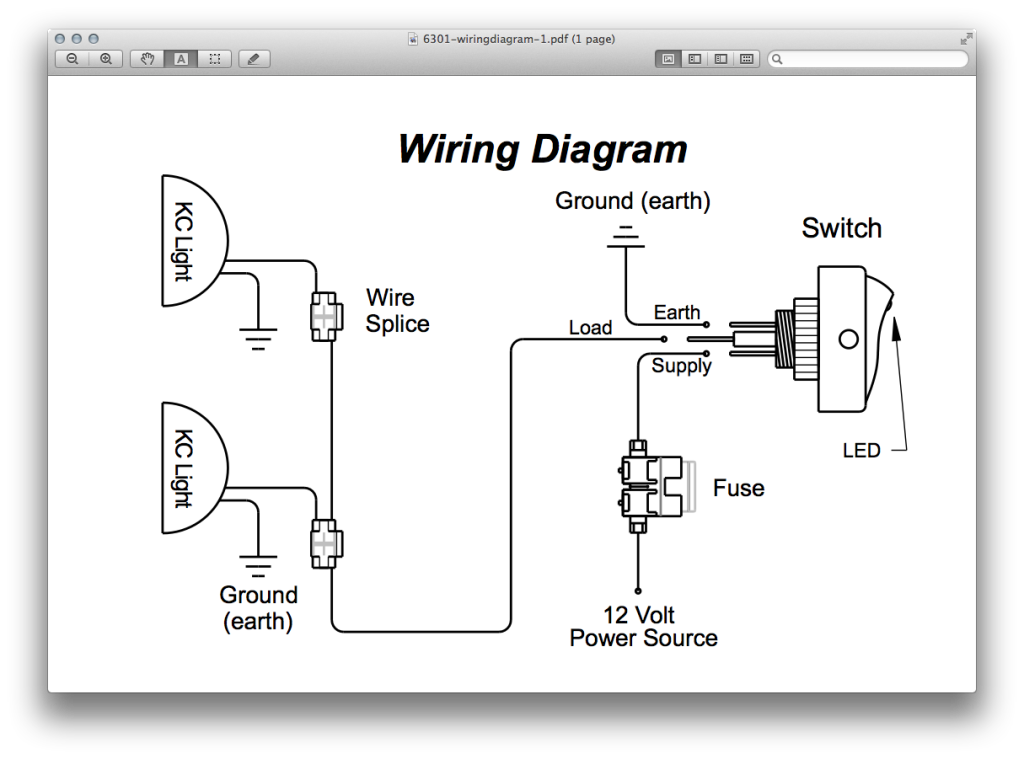 Wiring Diagram For Kc Lights