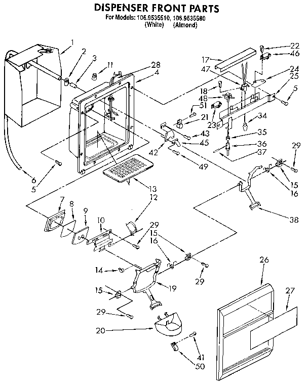 Wire Schematic For Kenmore Upright Freezer