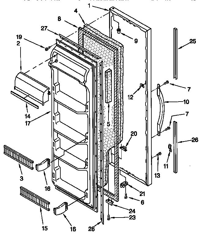 Kenmore Refrigerator Model 1067680640 Wiring Diagram