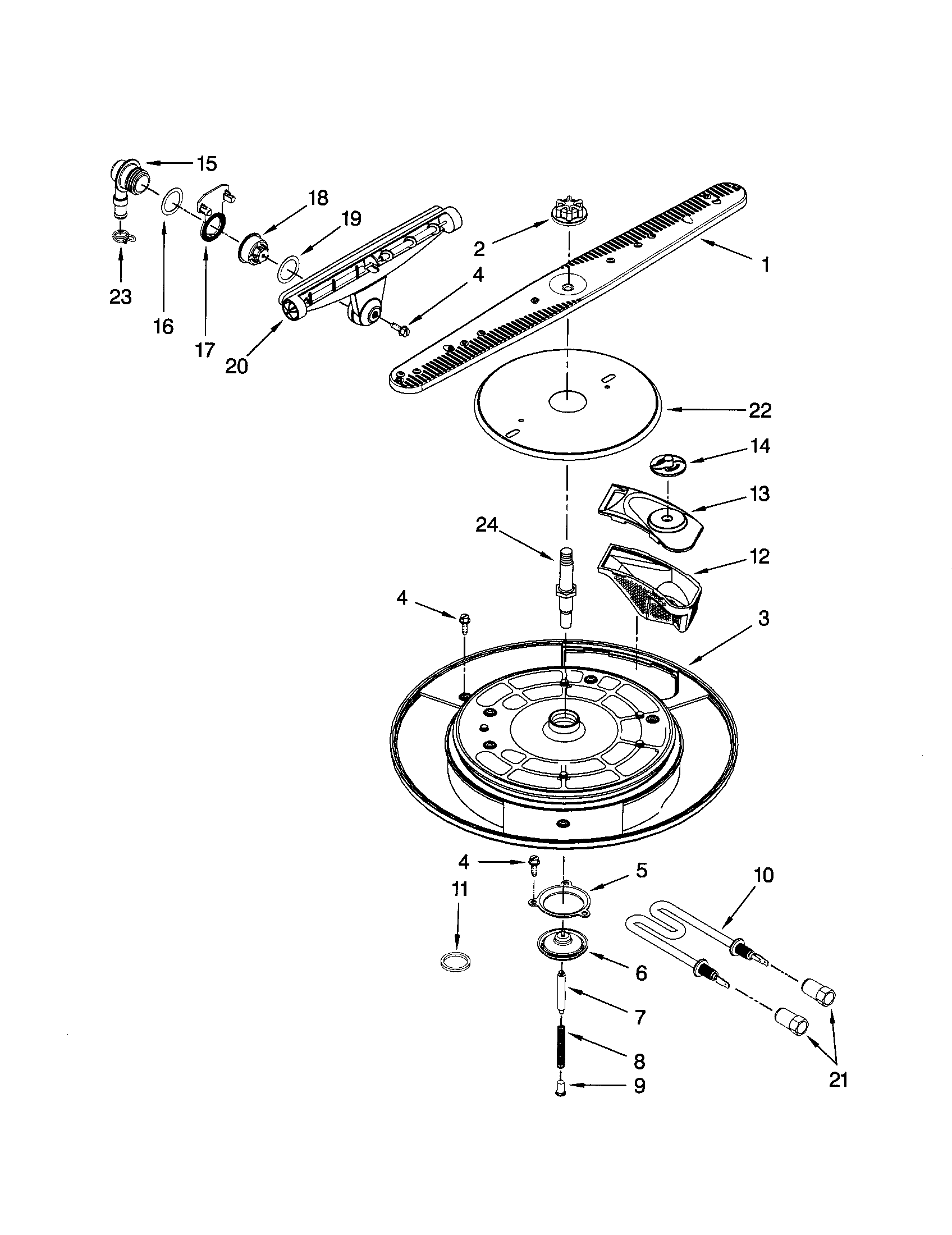 27 Kenmore Elite Dishwasher 665 Parts Diagram