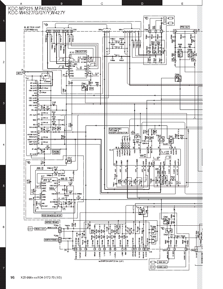 Kenwood Ddx395 Wiring Diagram