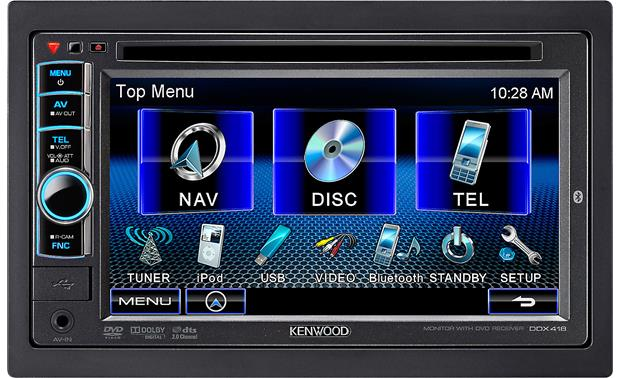 Kenwood Ddx418 Wiring Diagram
