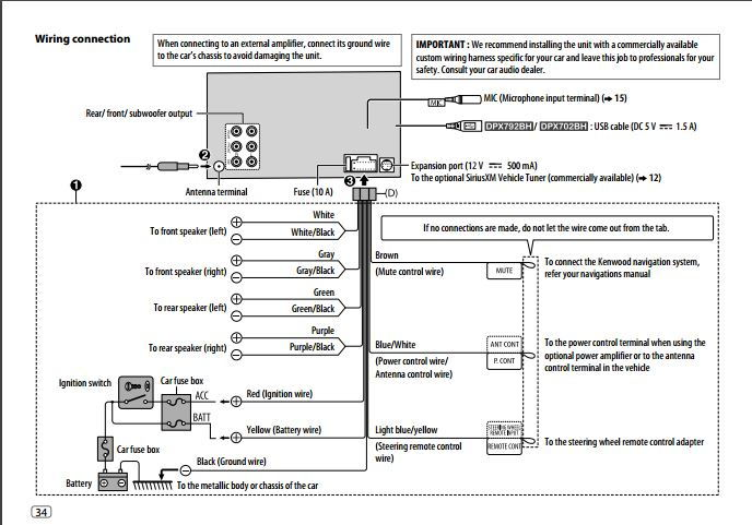 on kenwood dnx690hd wiring diagram aux