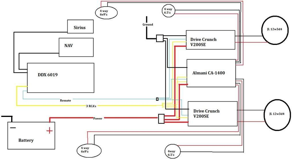 Kenwood Ddx7019 Wiring Diagram from schematron.org