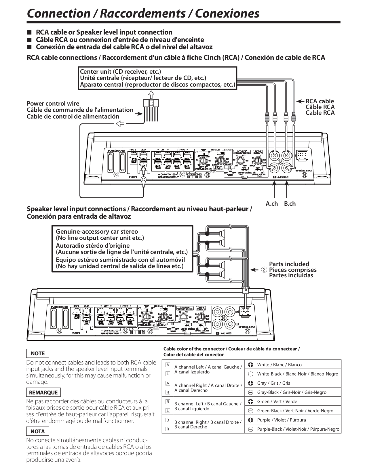 Kenwood Dnx9990hd Wiring Diagram