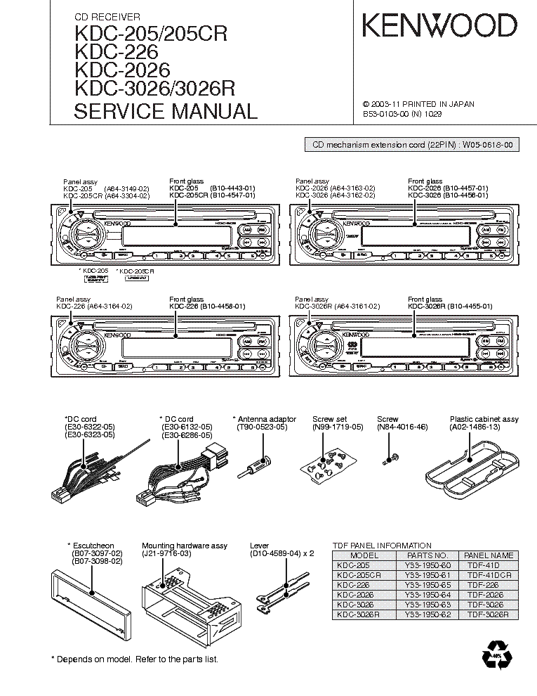 Kenwood Kdc 352U Wiring Diagram from schematron.org