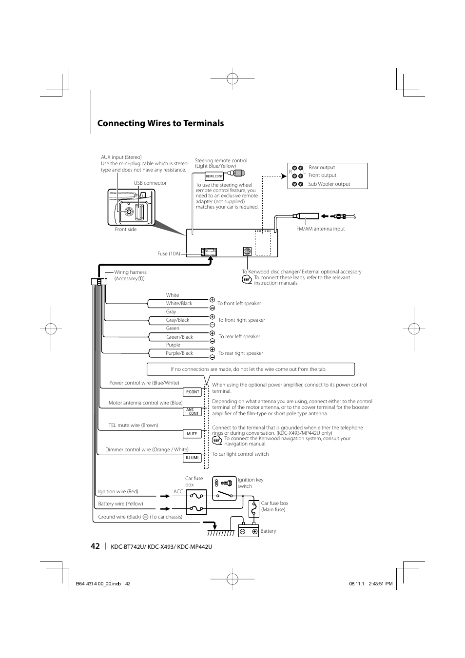DIAGRAM] Wiring Diagram Kenwood Cd Player With Bluetooth FULL Version HD  Quality With Bluetooth - SUCCESSDIAGRAM.GSXBOOKING.ITsuccessdiagram.gsxbooking.it