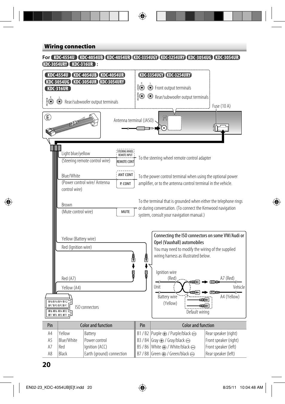 kenwood kdc mp205 wiring diagram. Black Bedroom Furniture Sets. Home Design Ideas