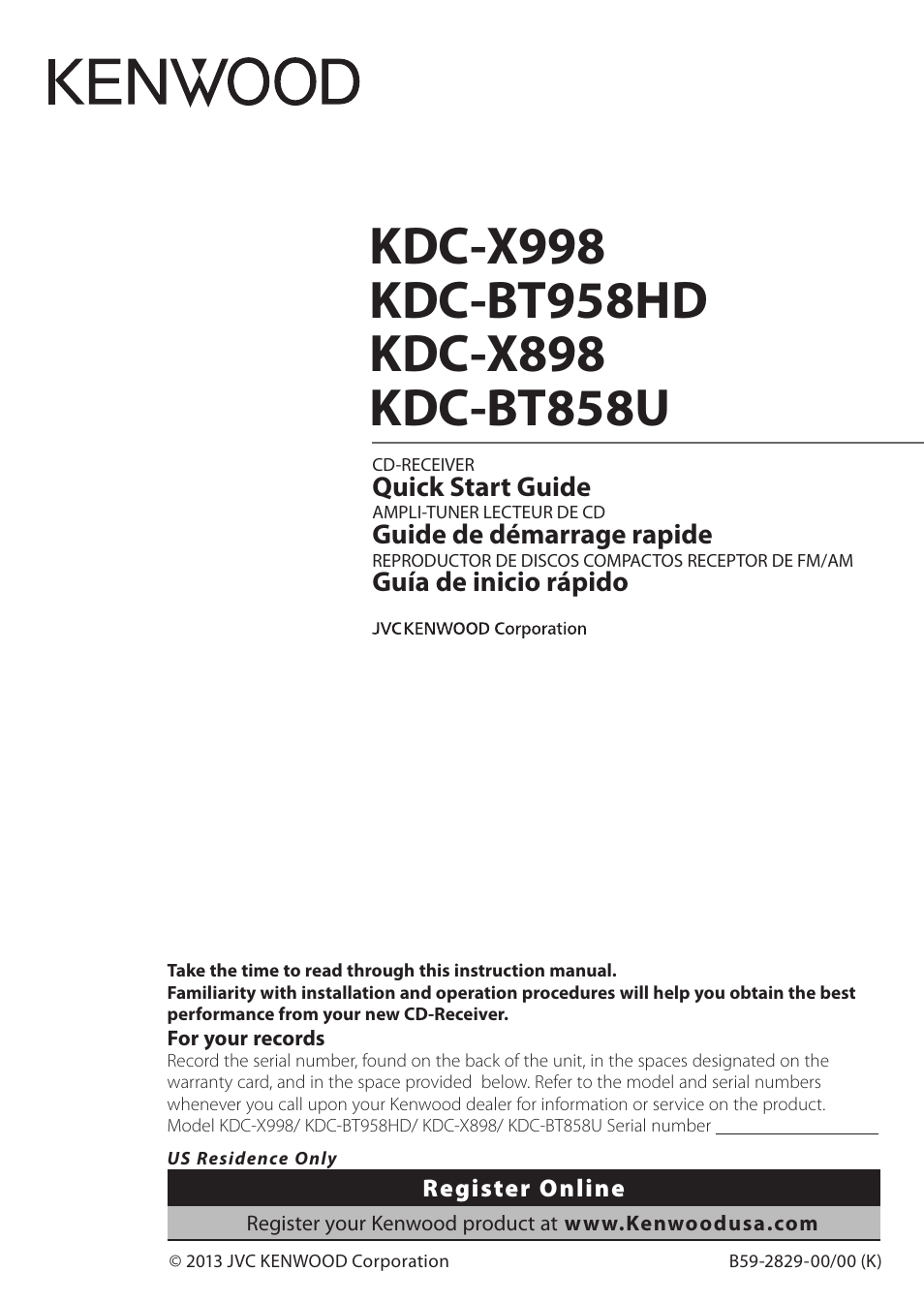 Kenwood Kdc Mp628 Wiring Diagram